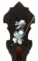 Dogwood Banjo Headstock Inlay